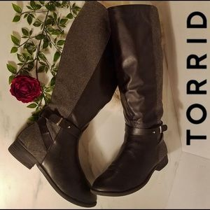 Torrid extra wide calf boots size 11